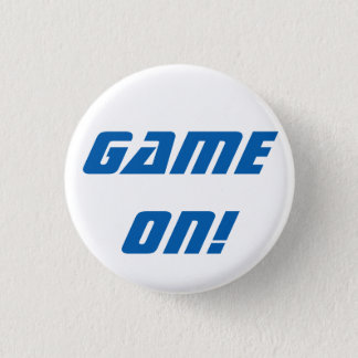 Game On! Retro Badge Button
