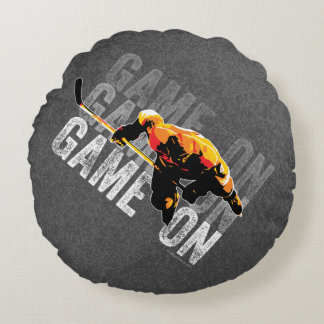 Game On Round Pillow