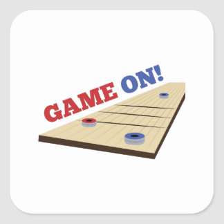 Game On! Square Sticker