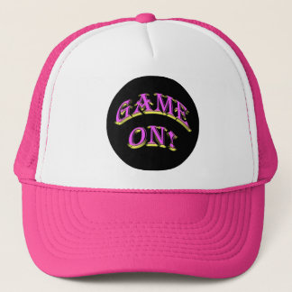 GAME ON! TRUCKER HAT