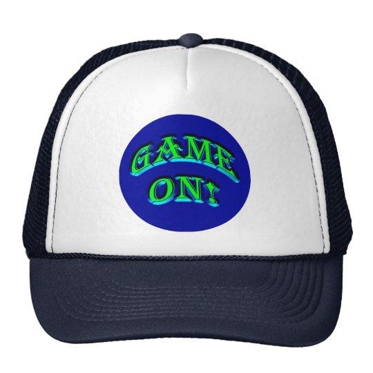 GAME ON! TRUCKER HAT