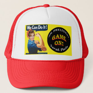 GAME ON!  - We Can Do It! Trucker Hat