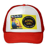 GAME ON!  - We Can Do It! Trucker Hats