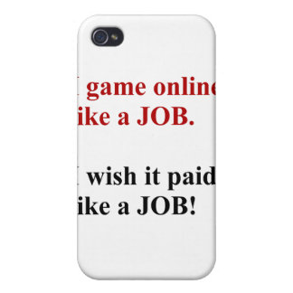 Game online like a job case for iPhone 4