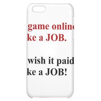Game online like a job iPhone 5C covers