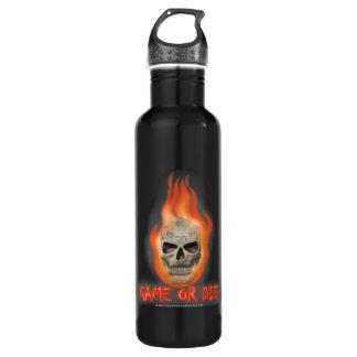 Game or Die Water Bottle