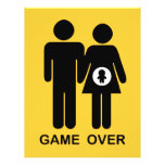 "Game Over 8.5"" X 11"" Flyer"