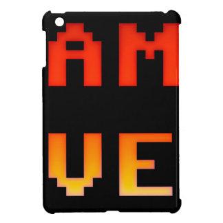 Game over 8bit retro iPad mini cover