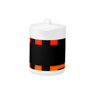 Game over 8bit retro teapot
