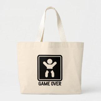 Game Over Baby Jumbo Tote Bag