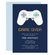 Game Over   Bachelor Party Invitation
