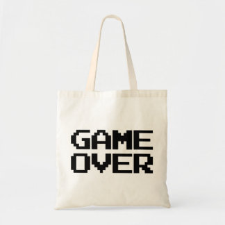 Game Over Budget Tote Bag