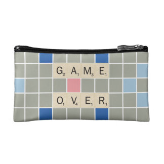 Game Over Makeup Bags