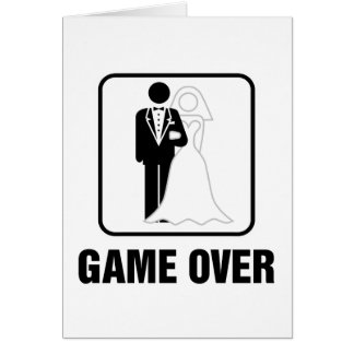 Game over cards