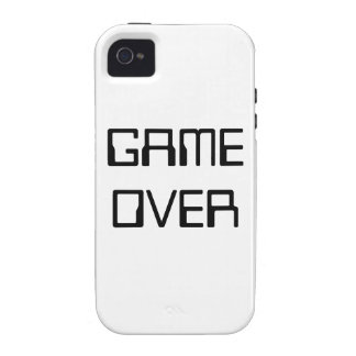 GAME OVER VIBE iPhone 4 CASES