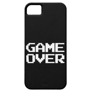 Game Over iPhone 5/5S Covers
