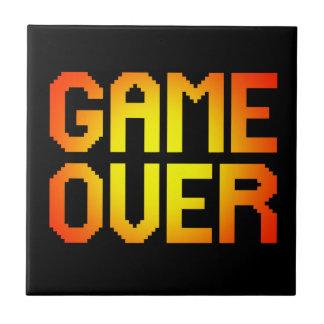GAME OVER CERAMIC TILE