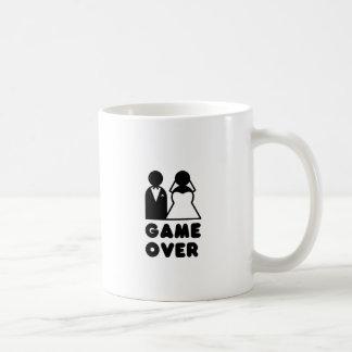 GAME OVER CLASSIC WHITE COFFEE MUG