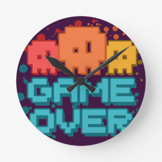 Game Over Round Clock