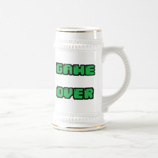 GAME OVER Collection Beer Stein