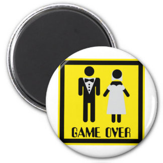 game over couple magnet