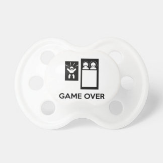 Game Over Daddy BooginHead Pacifier