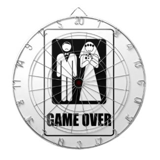 Game Over Dartboard With Darts
