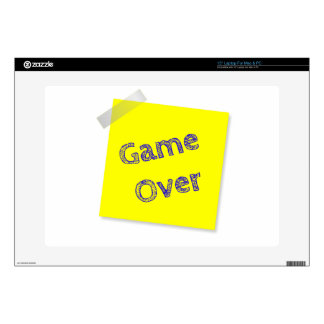"""Game over decal for 15"""" laptop"""