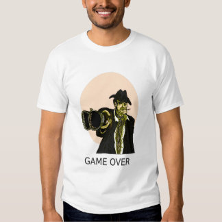 Game Over Design. T-Shirt