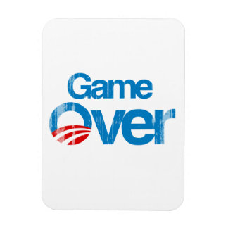 Game Over Faded png Vinyl Magnets