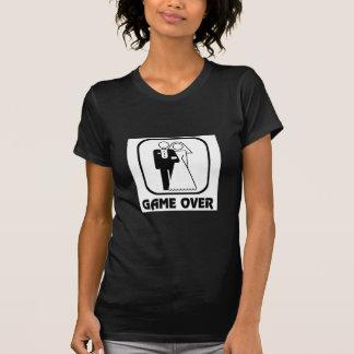 Game over - Fim do Jogo T-Shirt