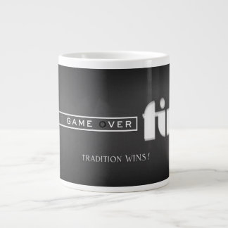 game over FIN 'TRADITION WINS!' Large Coffee Mug