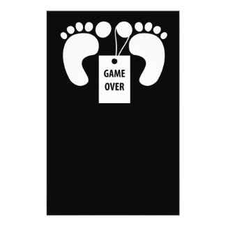 Game over flyer