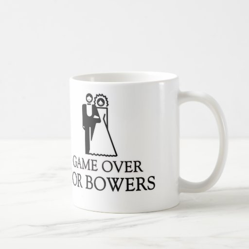 Game Over For Bowers Classic White Coffee Mug