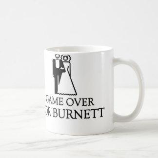 Game Over For Burnett Coffee Mugs