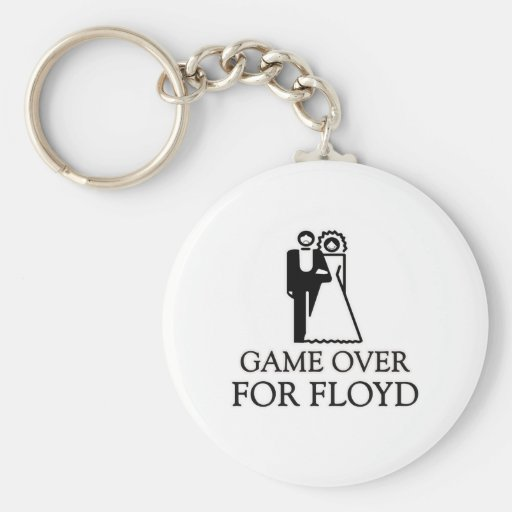 Game Over For Floyd Basic Round Button Keychain