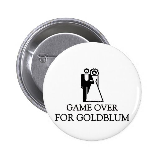 Game Over For Goldblum Pins