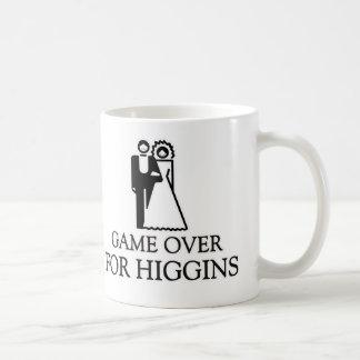 Game Over For Higgins Classic White Coffee Mug