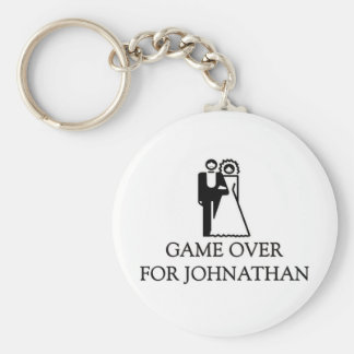 Game Over For Johnathan Keychains