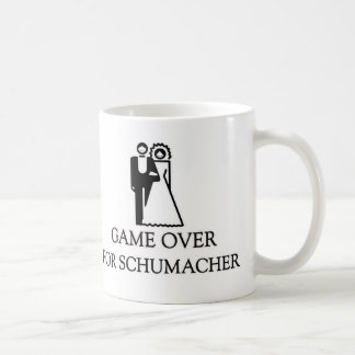 Game Over For Schumacher Classic White Coffee Mug