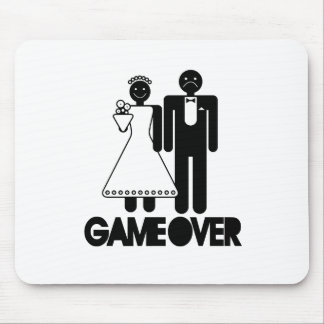 Game Over - Funny Wedding Gifts Mouse Pad