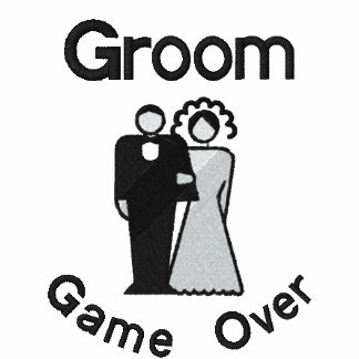 Game Over - Groom Embroidered Shirt