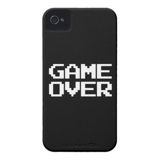 Game Over iPhone 4 Covers