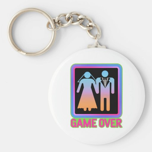 Game Over Key Chains
