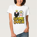 Game over marriage (8-bit) t shirt