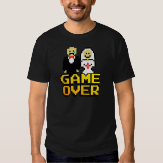 Game over marriage (8-bit) T-Shirt