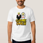 Game over marriage (8-bit) tees