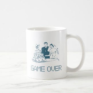 Game Over (Marriage) Classic White Coffee Mug