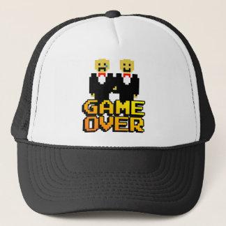 """Game Over"" Marriage (Gay, 8-bit) Trucker Hat"