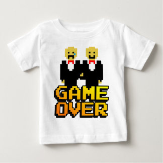 """Game Over"" Marriage (Gay, 8-bit) Infant T-shirt"